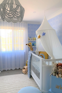 Hannah Polites' Arlo's nursery