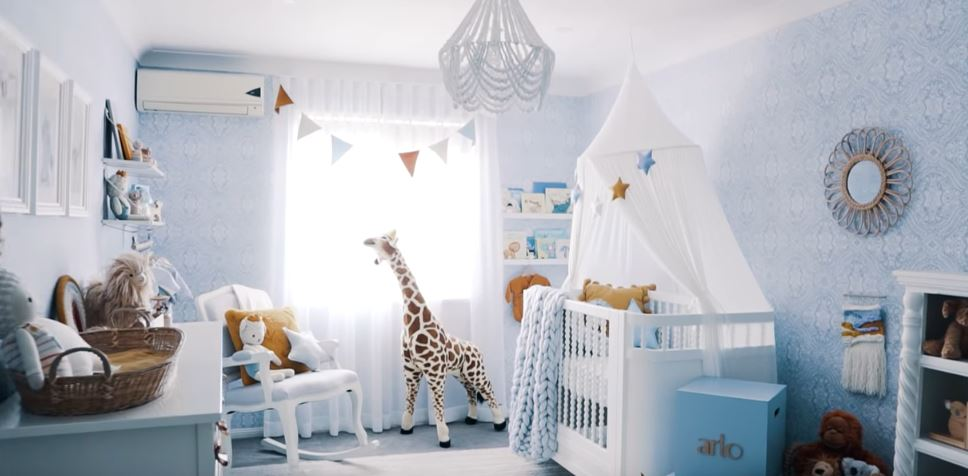 Hannah Polites' new baby room created with the help from Blindo