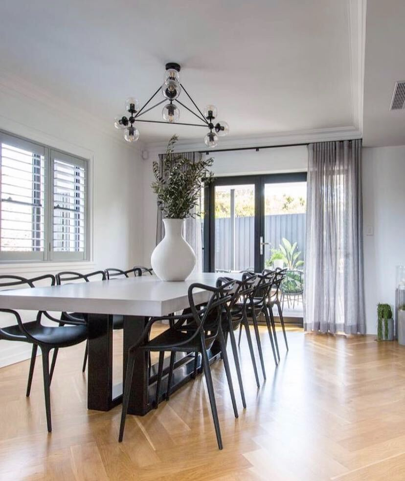 A modern dining room - window renovations blog featured image